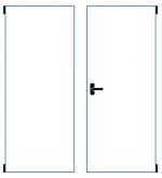 dvoukřídlé okno sklopně otevíravé s mikroventilací