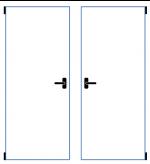 dvoukřídlé okno sklopně otevíravé se středovým sloupkem
