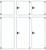 šestikřídlé okno (2x otvíravý světlík)